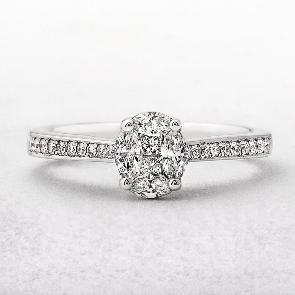 photo engagement ring click to vintage enlarge carat diamond