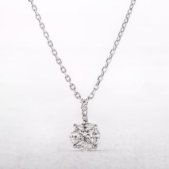 0.61ct Multi Stone Diamond Pendant