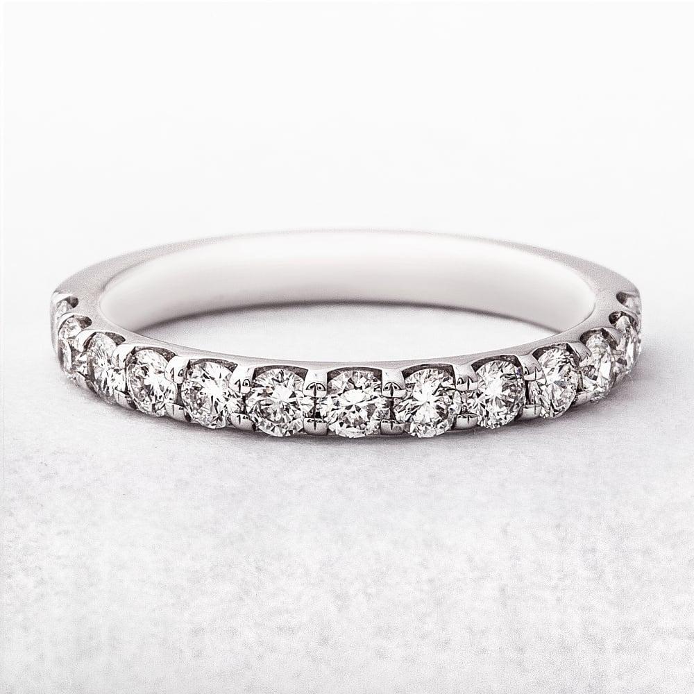062ct White Gold Wedding Ring