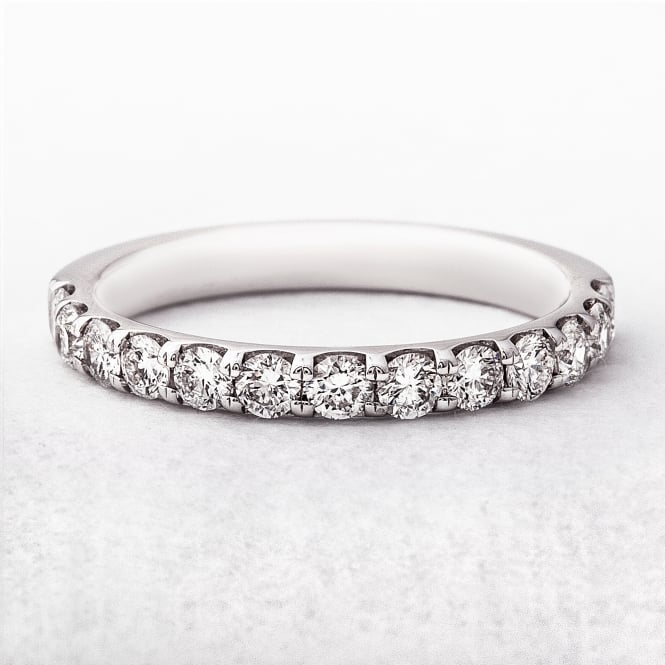 0.62ct White Gold Wedding Ring