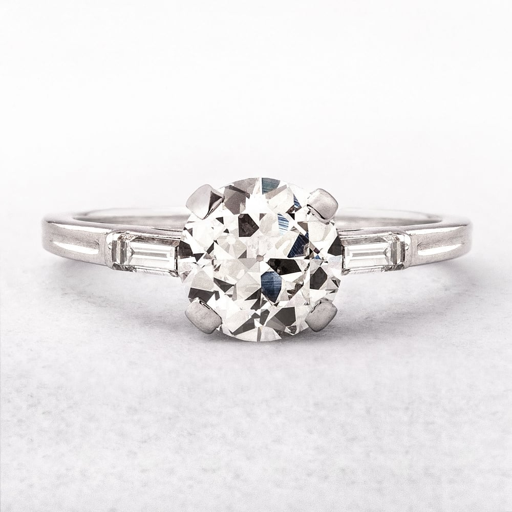 platinum white french enr ring a gold v flat halo rings pave edge in diamond gallery style pav petite oval engagement
