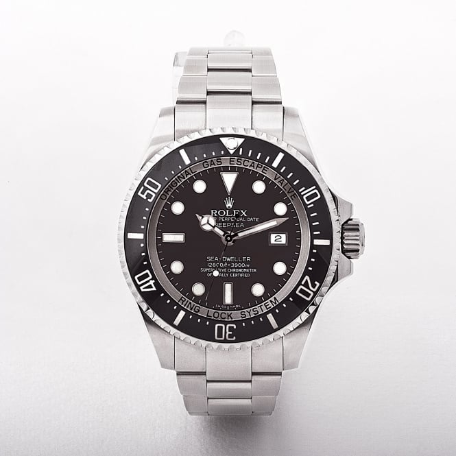 116660 Rolex Deep Sea with Black Dial from 2009