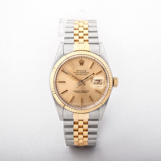 16233 Reference Gents Rolex DateJust on Bi Colour Jubilee Bracelet 1987