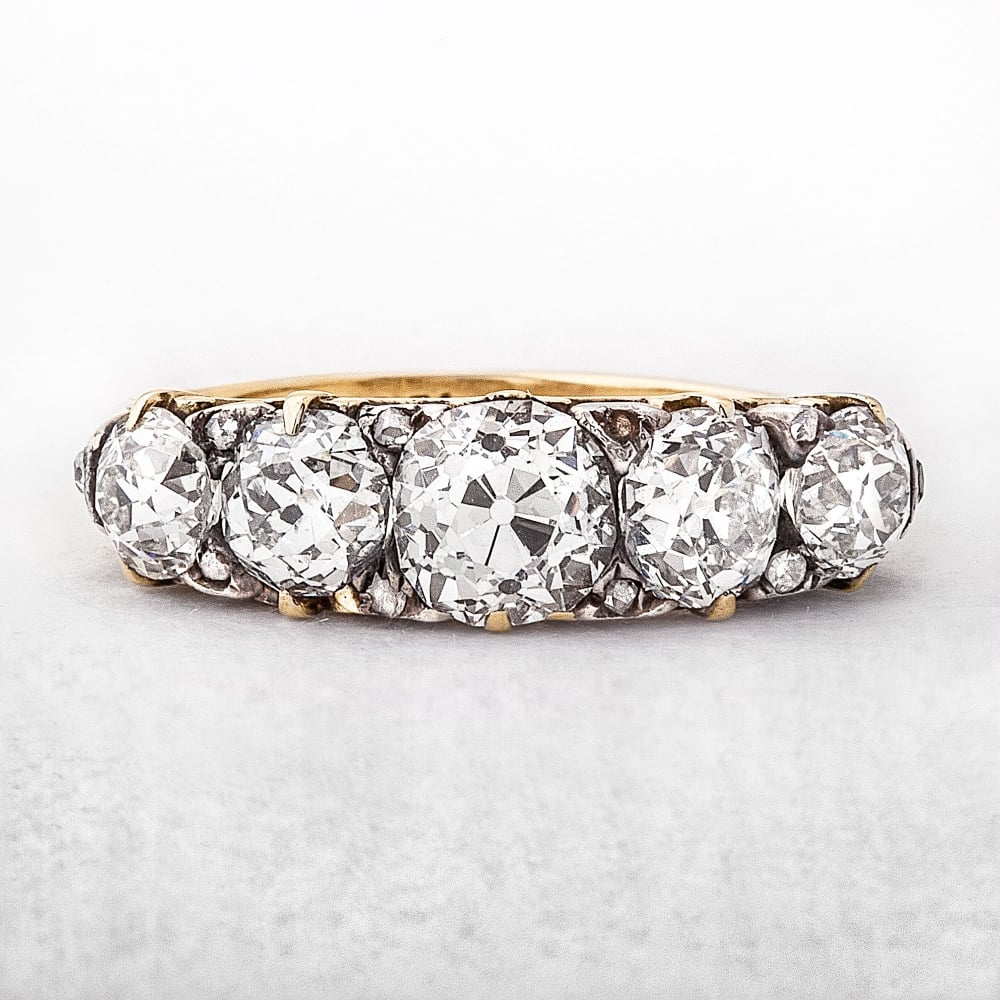 stone diamond in cut white certified h sidestones engagement brilliant round ct gold d g ring twt