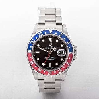 2002 Gents Rolex Automatic GMT Master II Watch with