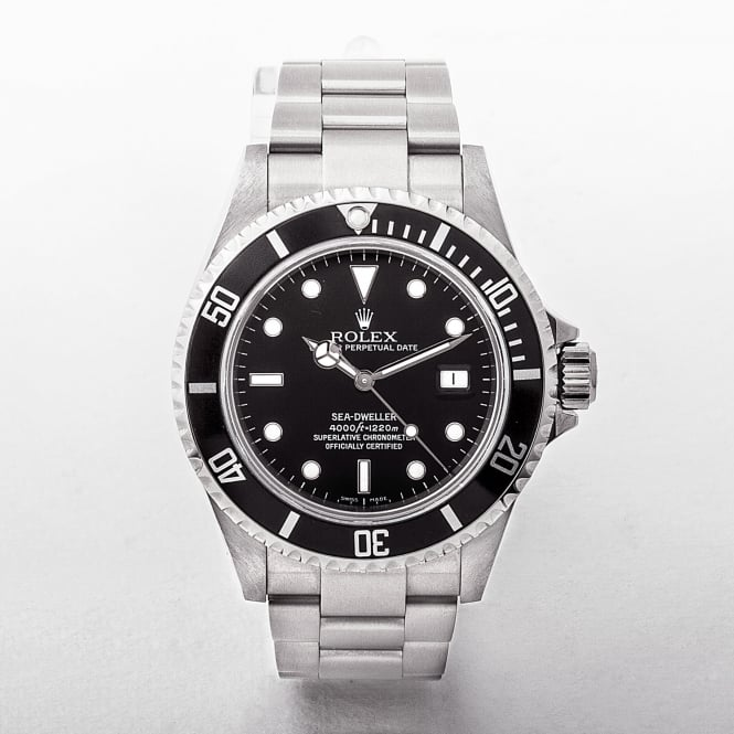 2004 Rolex Sea-Dweller Oyster Perpetual Black Dial Watch