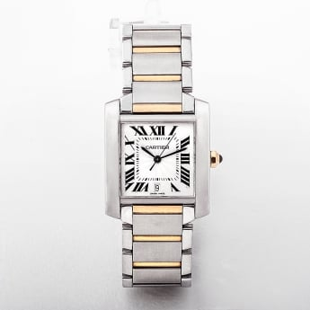 2302 Cartier Tank Francaise Gents Watch with Automatic Movement