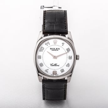 4233/9 Rolex Cellini Watch from 2007. Made in 18ct White Gold.