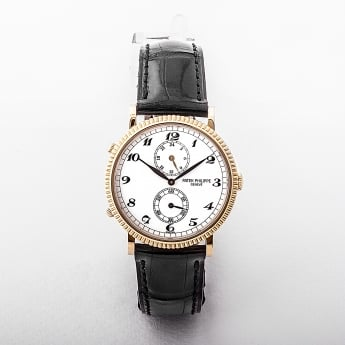 5034 Patek Philippe Travel Time 18ct Yellow Gold