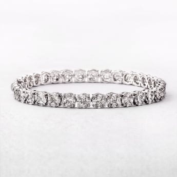 7.59ct Multi Stone Diamond Line Bracelet
