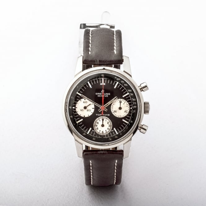 A 1960's Breitling Toptime Chronograph Watch with Manual Wind Movement