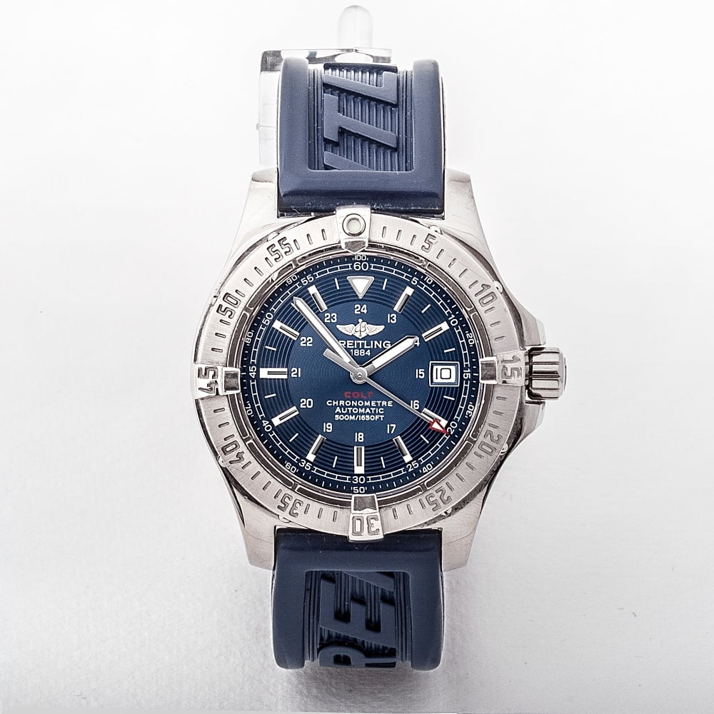 A17380 Breitling Colt Stainless Steel Automatic Watch