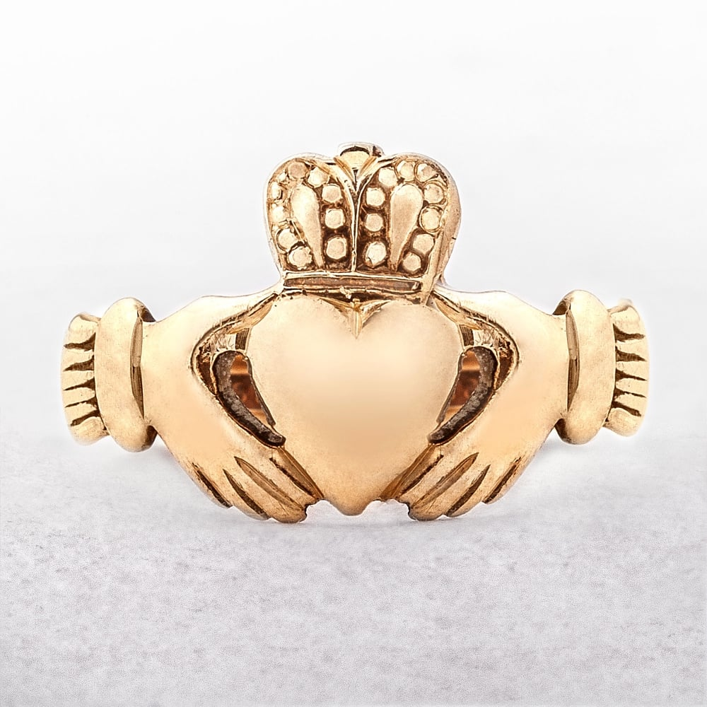 Claddagh Yellow Gold Ring From Dublin 1974