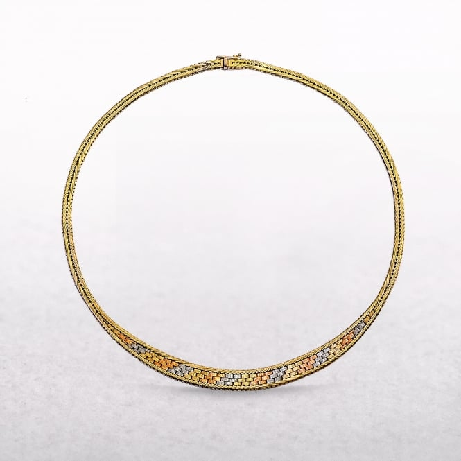 Cleopatra Necklace Made in 18ct Gold