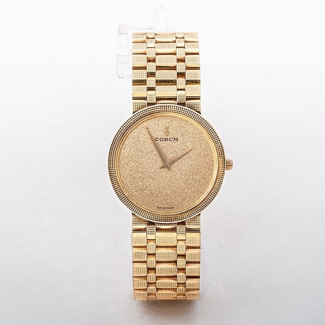 Corum Gents 18ct Yellow Gold 87.8g Watch with Champ Dial