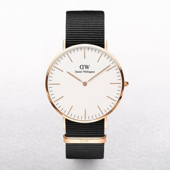 Daniel Wellington Classic Cornwall White Dial Watch