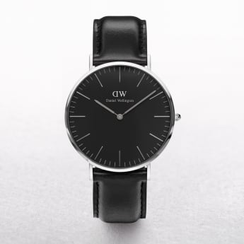 Daniel Wellington Classic Sheffield Black Dial Watch