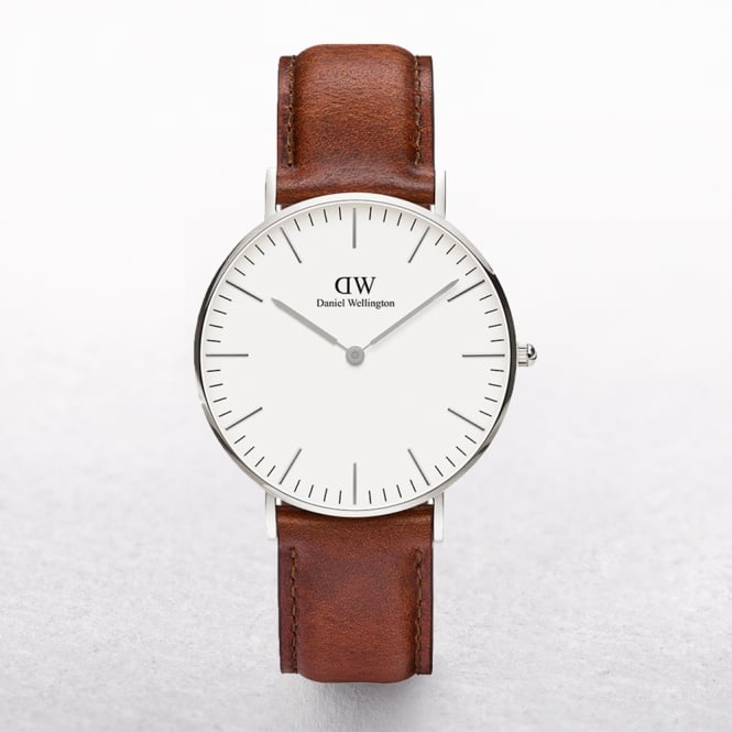 Daniel Wellington Classic St Mawes White Dial Watch