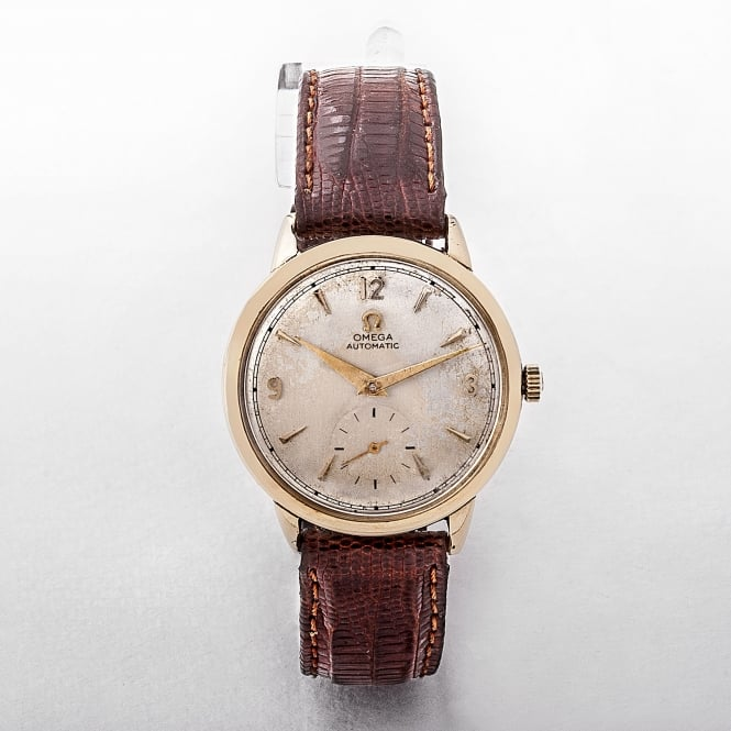 Gents 1958 Omega 14ct Gold Automatic Seamaster Watch