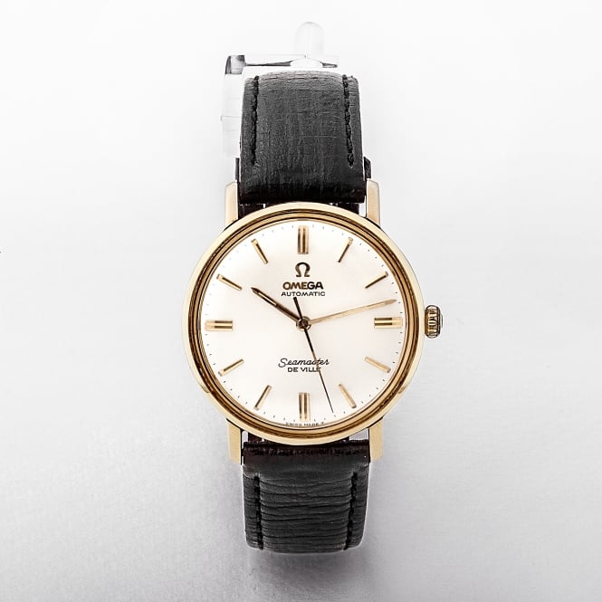 Gents 1965 Omega DeVille Two Tone Cream Dial