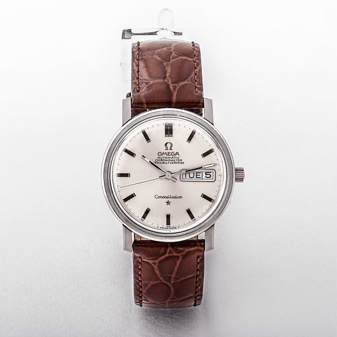 Gents 1969 Omega Constellation Automatic Stainless Steel