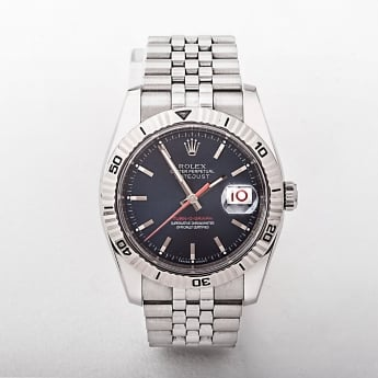 Gents 2004 Rolex Oyster Perpetual Turnograph Watch