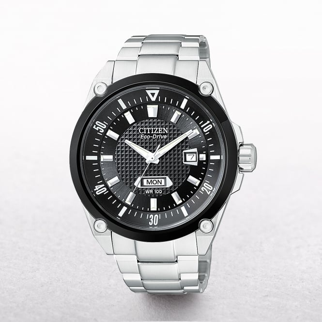 Gents Citizen Eco-Drive Date & Day Window