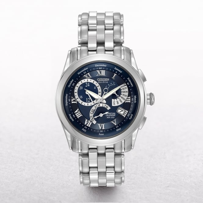 Gents Citizen Eco-Drive Navy Dial Calibre 8700