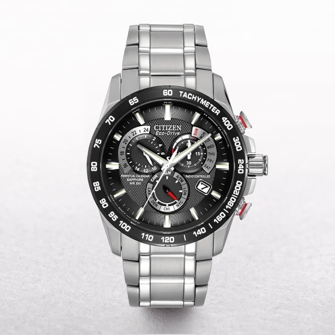 Gents Citizen Eco-Drive Perpetual Tachymeter Chronograph