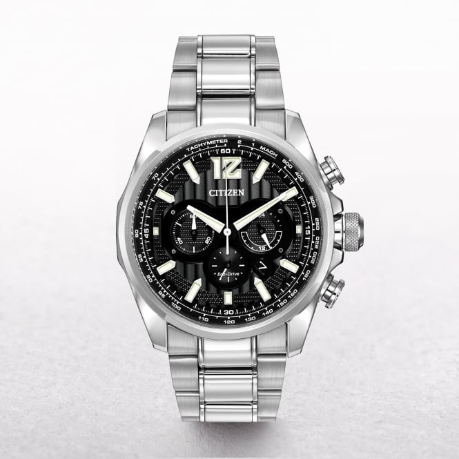 Gents Citizen Eco-Drive Shadowhawk Chronograph