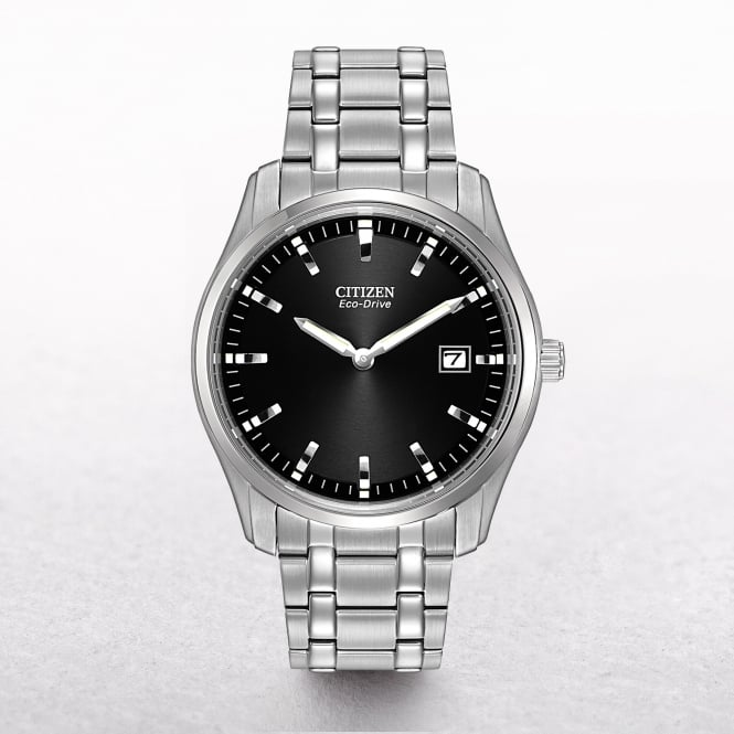 Gents Citizen Eco-Drive Stainless Steel Men's Dress Watch