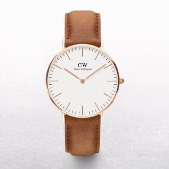 Gents Daniel Wellington Durham White Dial Watch