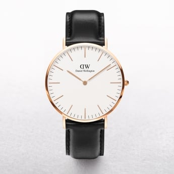 Gents Daniel Wellington Sheffield White Dial Watch