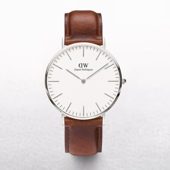 Gents Daniel Wellington St Mawes White Dial Watch