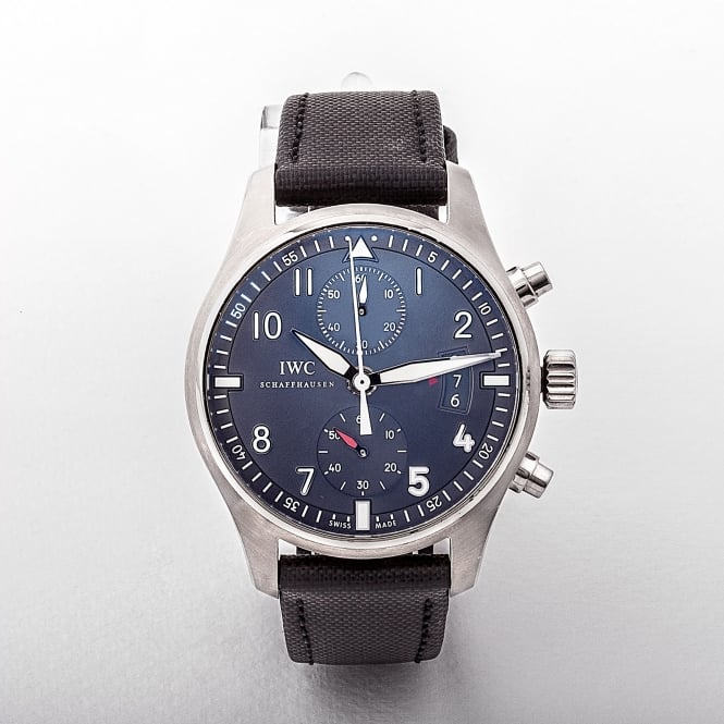 Gents IWC Spitfire 2012 Stainless Steel Chronograph