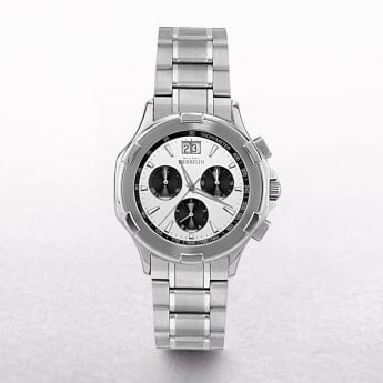 Gents Michel Herbelin Safari Stainless Steel Chronograph