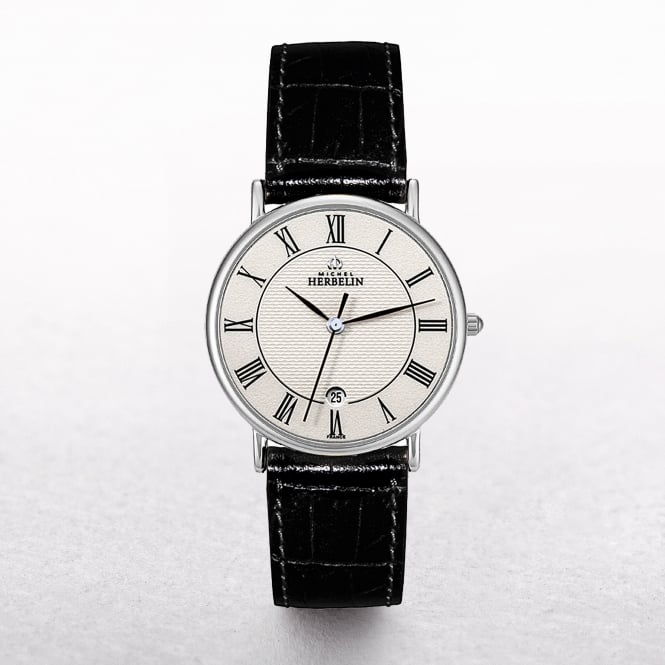 Gents Michel Herbelin Sonates Leather Strap