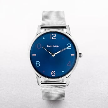 Gents Paul Smith Slim Watch with Blue Dial
