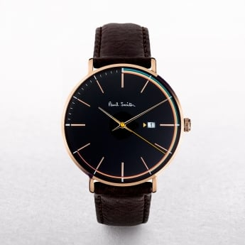 Gents Paul Smith Track Art Watch with Black Dial