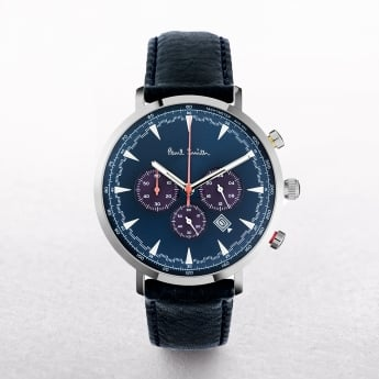 Gents Paul Smith Track Watch Chronograph with Navy Dial