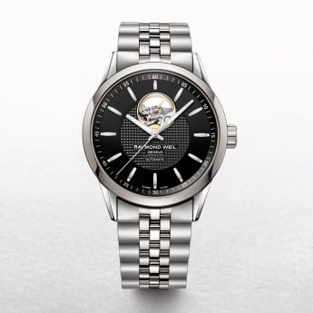 Gents Raymond Weil Freelancer Automatic on Stainless Steel Bracelet. Model 2710-ST-20021