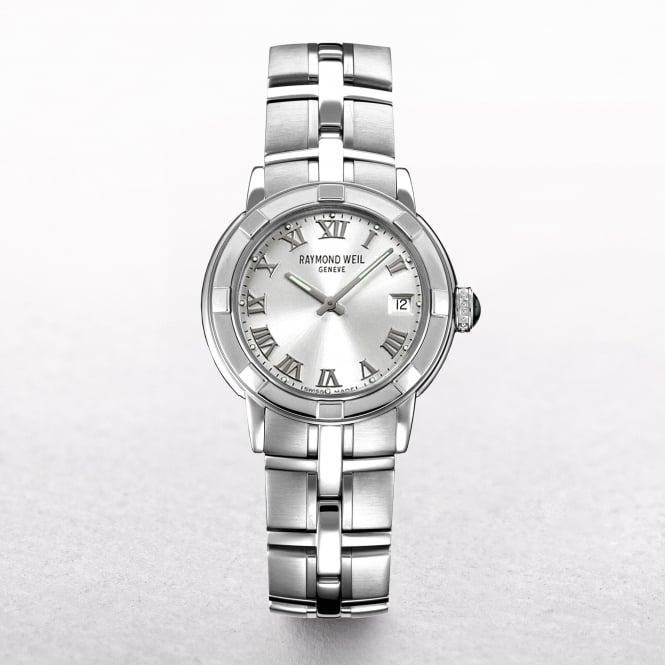 Gents Raymond Weil Parsifal Round Stainless Steel Dial