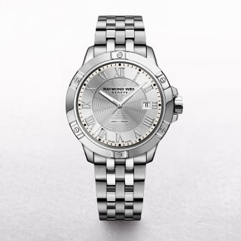 Gents Raymond Weil Tango Stainless Steel Round Silver Dial