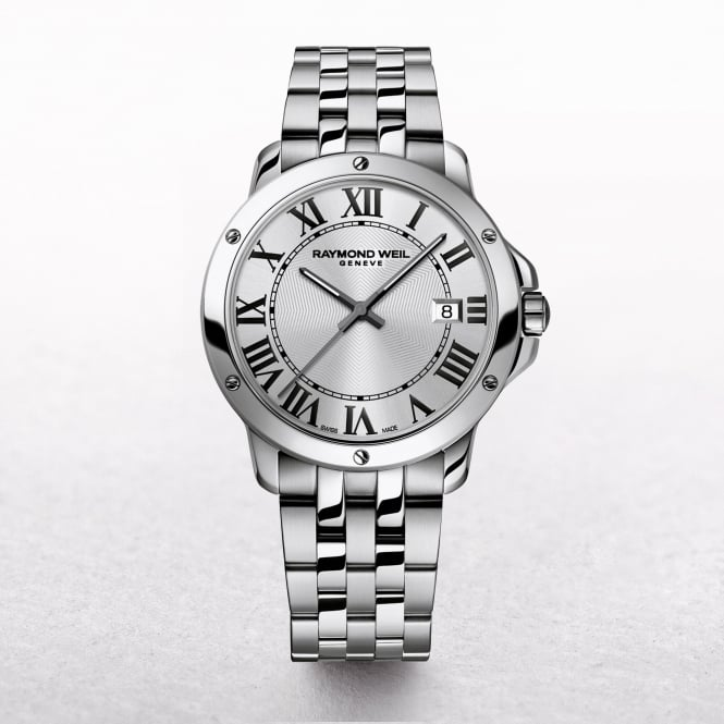 Gents Raymond Weil Tango Stainless Steel Silver Dial with Roman Numerals