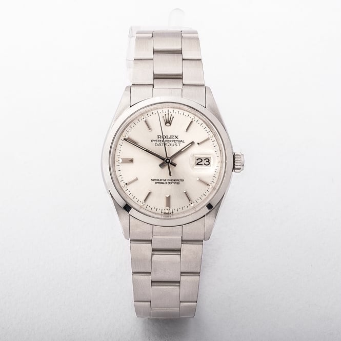 Gents Rolex Date Stainless Steel Oyster Bracelet