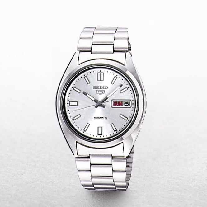 Gents Seiko 5 Automatic Watch With Day & Date Window