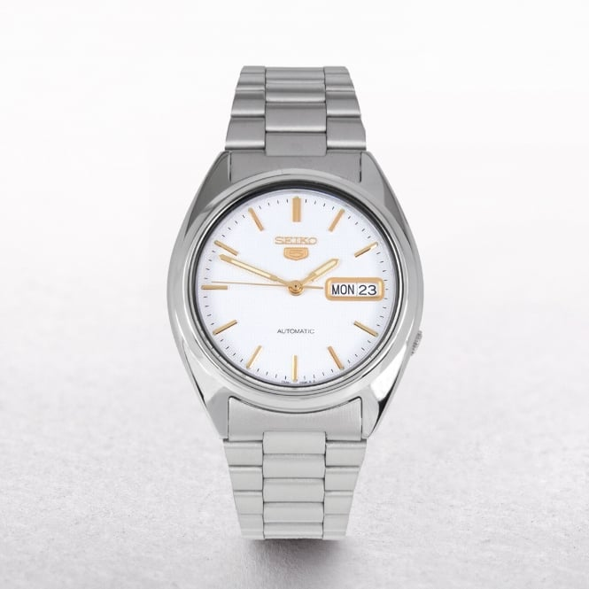 Gents Seiko Automatic Stainless Steel Day & Date Window