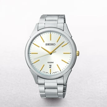 Gents Seiko Classic Stainless Steel Silver Dial