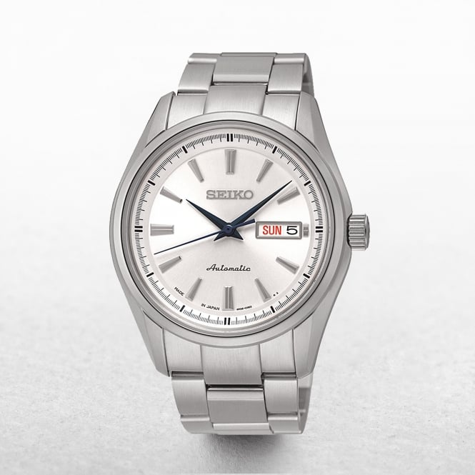 Gents Seiko Presage Automatic Day & Date Window