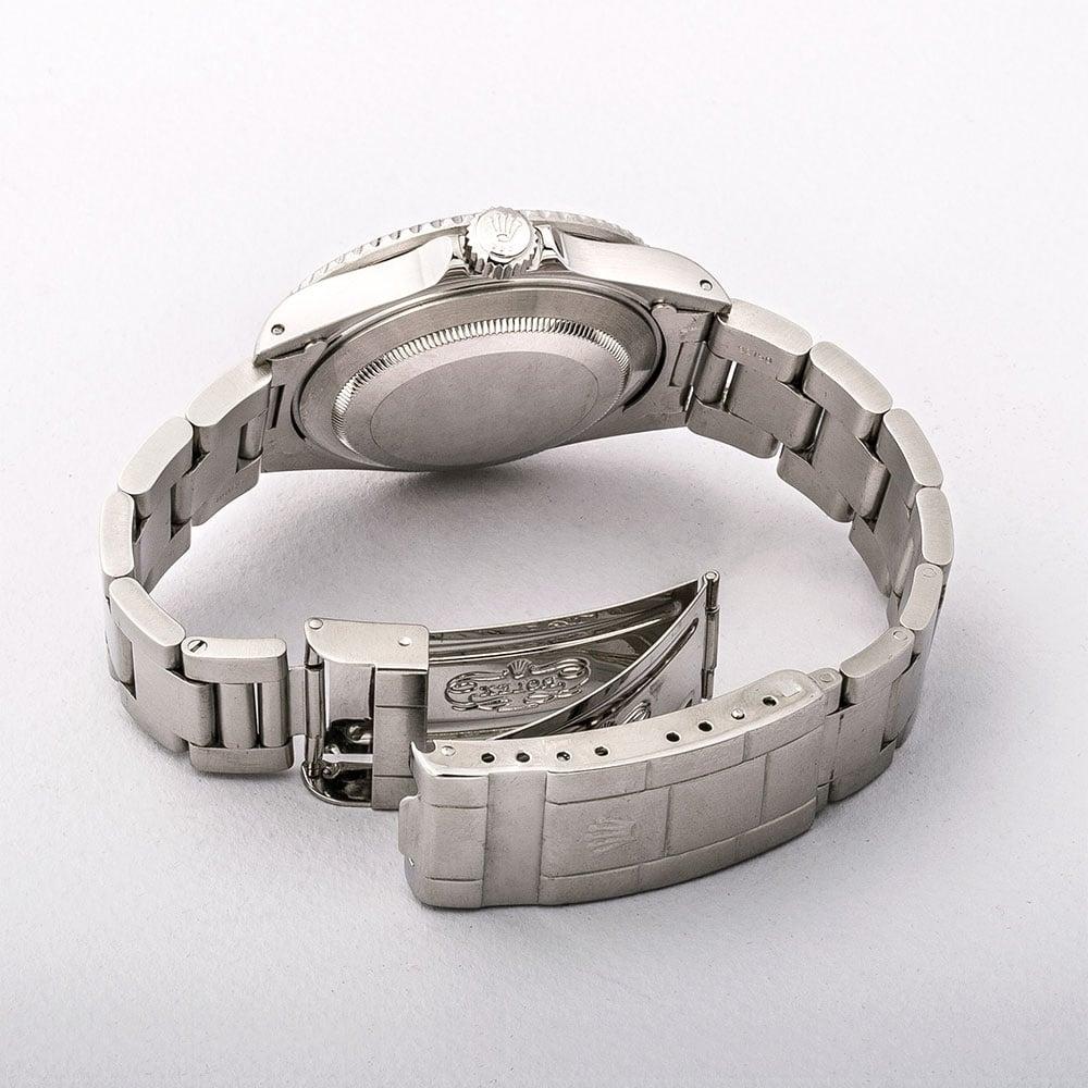 Gents Stainless Steel Rolex Submariner Watch On Bracelet